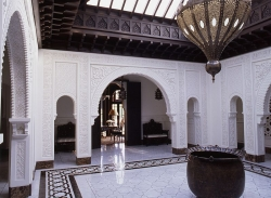 Palace in Marrakech-Orientalism Дизайн интерьера