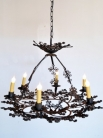Античная испанская железная люстра / Antique Spanish Iron Chandelier
