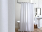 Штора для ванной Pique Scalloped Shower Curtain